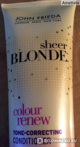 Кондиционер для волос John Frieda восстановление и поддержание светлого оттенка с UV фильтром фото