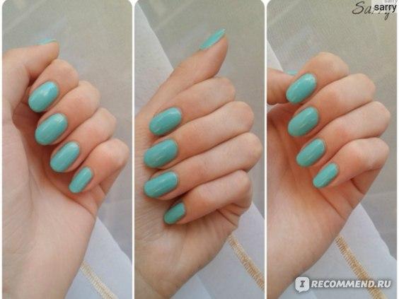Покрытие ногтей гель-лаком в салоне фото