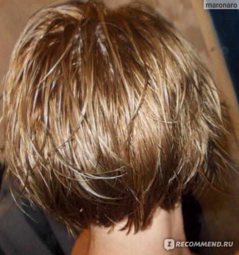 влажные волосы со вспышкой