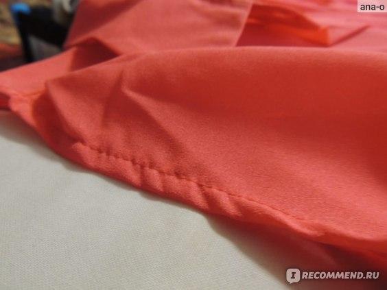 Блуза AliExpress LADY ELASTIC WAIST FOLDS LAPEL SLEEVELESS CHIFFON SHIRT GWF-6187 фото
