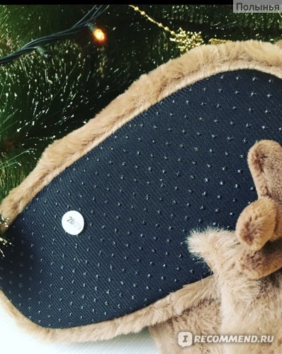 Тапочки Christmas Kids Reindeer Slippers