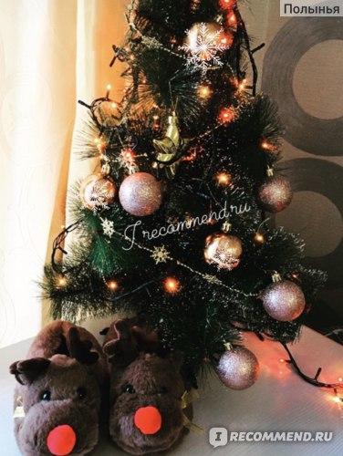 Тапочки Christmas Kids Reindeer Slippers Отзыв Фото заказакть можно на babyshop