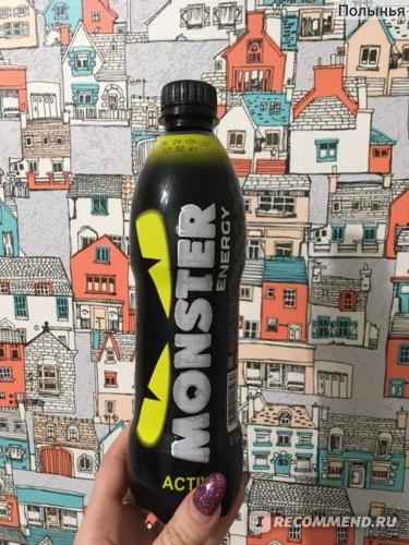 Энергетический напиток MONSTER ENERGY YELLOW Энергетик Монстр отзывы