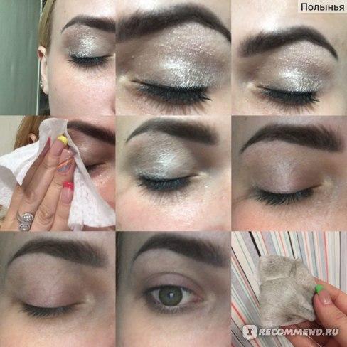 Салфетки для снятия макияжа ADRIA для всех типов кожи отзыв фотографии опыт использования