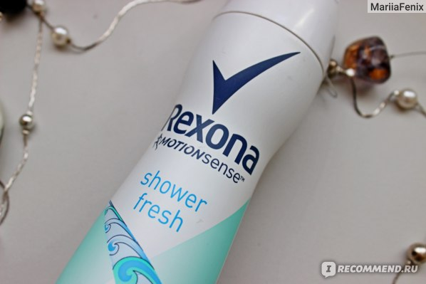 Дезодорант-антиперспирант Rexona  shower fresh фото