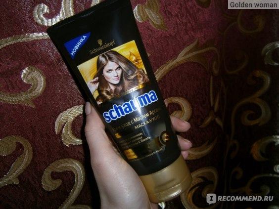 Маска для волос Schauma Крем - уход с маслом Арганы фото