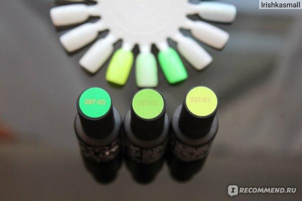 Гель-лак для ногтей MASURA Люминофорные «Люми-Люми» фото