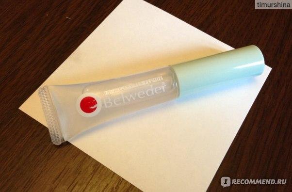 Бальзам для губ Belweder жидкий увлажняющий с зкстрактом алоэ фото