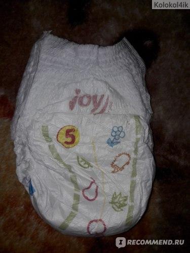 Подгузники-трусики Joy Run and fun фото