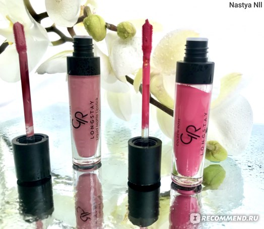 Жидкая матовая помада Golden Rose Longstay Liquid Matte Lipstick