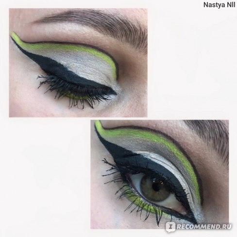 Жидкая подводка для глаз Eveline Celebrity eyeliner фото