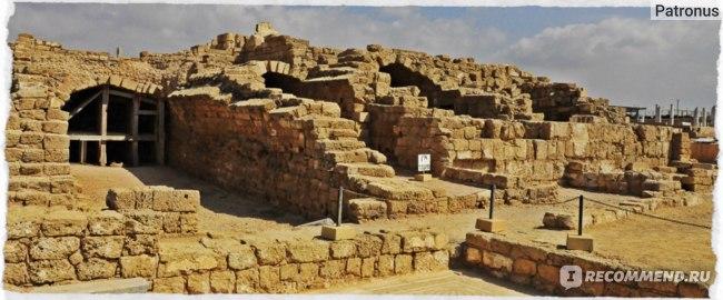 развалины Кесарии