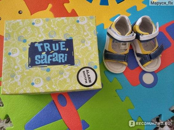 Сандалии детские TRUE SaFaRi HW19038 фото