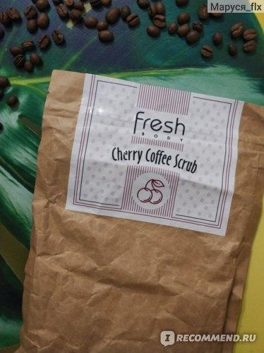 Скраб для тела Fresh Body Cherry Coffee Scrub отзывы