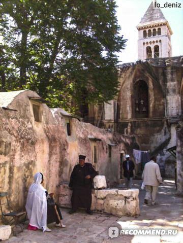 Эфиопская часовня при Храме Гроба Господня