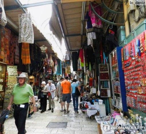 Мусульманский квартал Иерусалима. Путь к Храму Гроба Господня