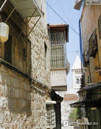 Улицы Иерусалима по пути к Храму Гроба Господня
