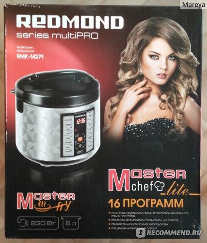 Redmond Мультикухня: упаковка