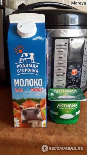 Продукты для домашнего йогурта