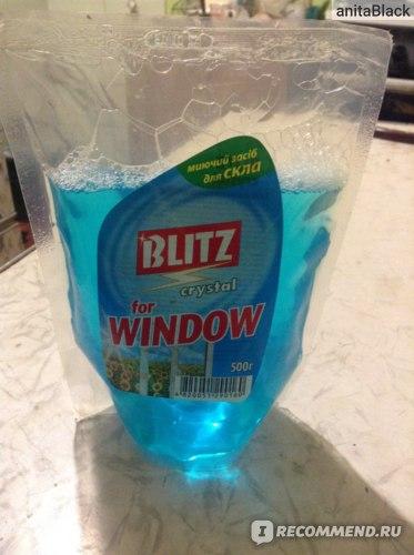Жидкость для мытья стекол Blitz  фото