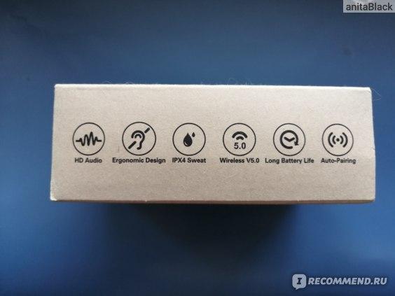 Беспроводные наушники Aliexpress AUSDOM TW01 TWS Wireless Bluetooth Earphone 20H Play Time Wireless Headphone CVC8.0 Noise Cancelling Sport Earbuds With Dual Mic фото