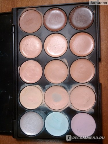 Палетка консилеров Buyincoins Pro 20 Color Concealer Camouflage Professional Makeup Cosmetic Palette Set фото