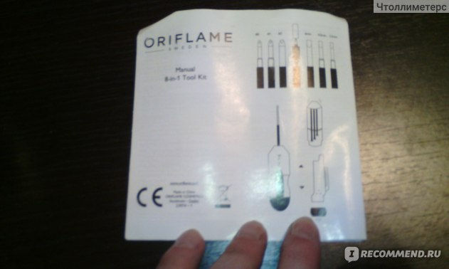 Отвертка Oriflame Набор мини-инструментов 8 в 1 фото