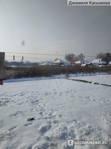 Зима пришла неожиданно в середине января