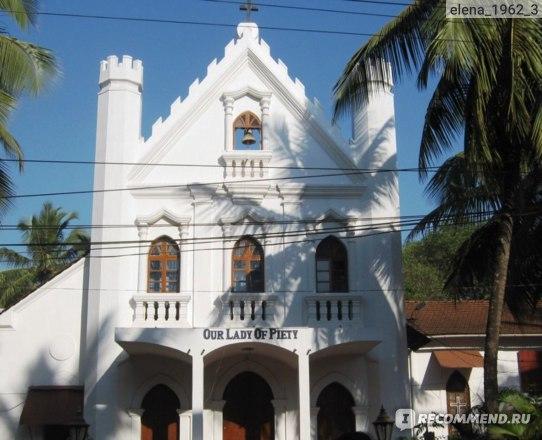 Отель Дона Альчина 3* Гоа, Индия, Кандолим фото