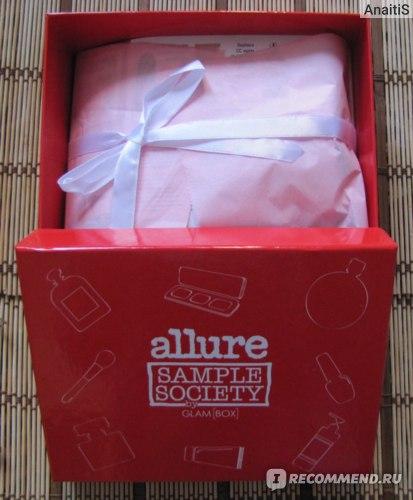 Allure Sample Society - allurebox.ru / GlamBox - glambox.ru фото
