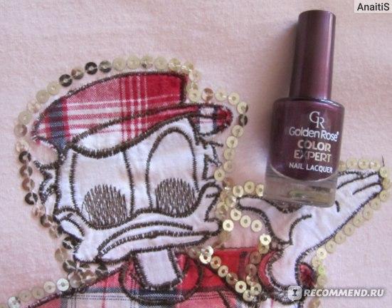 Лак для ногтей Golden Rose Color Expert фото