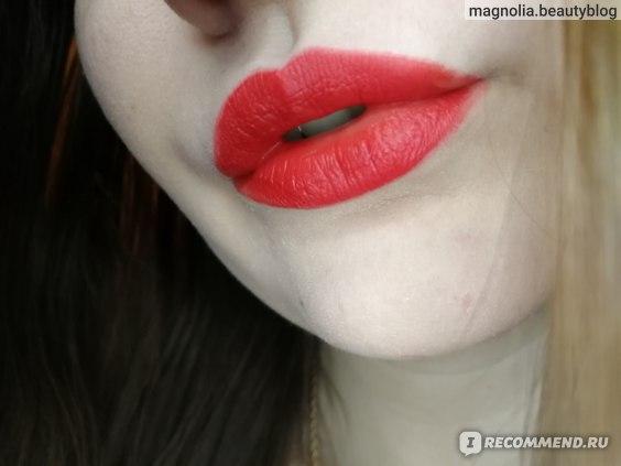 Губная помада L'Oreal Paris Les macarons ultra matte liquid lipstick фото