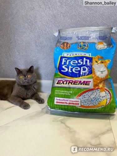 Наполнитель для кошачьего туалета Fresh Step extreme фото