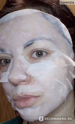 Тканевая маска для лица May Island Cucumber (Огурец) фото