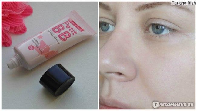кожа после нанесения ВВ крема