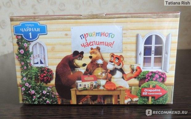 Чай  Маша и Медведь Классический черный чай фото