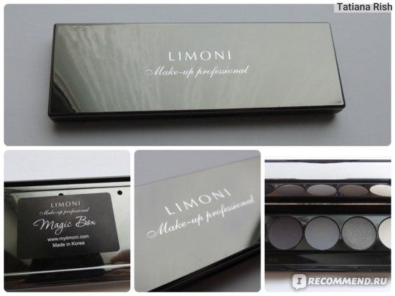 Тени для век Limoni Наборы «Eye-Shadow» c пеналом с магнитными ячейками фото