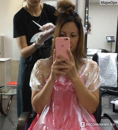 Окрашивание волос в технике Handtouch