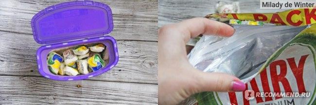 Fairy Platinum plus капсулы для посудомоечных машин
