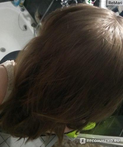 Как выглядели мои волосы после мыться этим шампунем