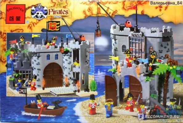 """Конструктор """"Пиратская крепость"""" с фигурками и аксессуарами фото"""