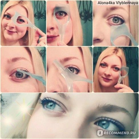 Лопатка для ресниц   Disposable Eyelash Wand Mascara Applicator Brush фото