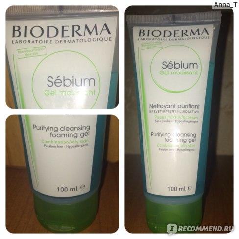 Гель для умывания Bioderma Sebium - Gel moussant purifiant фото