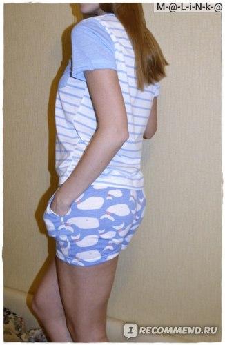 """Пижама Kawaii Factory """"Whales"""" фото"""