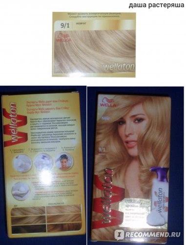 Краска-мусс для волос Wella Wellaton  фото