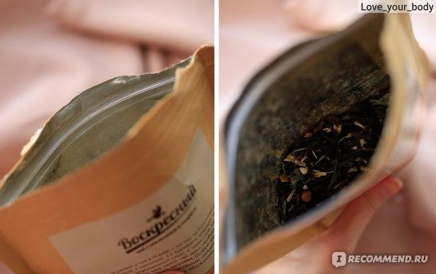 Чай чёрный листовой Biopractika Воскресный чай №1 с апельсином и кипреем фото