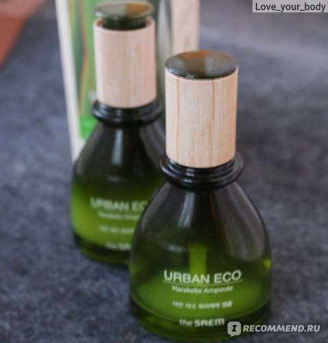 Сыворотка для лица The Saem Urban Eco Harakeke Ampoule фото