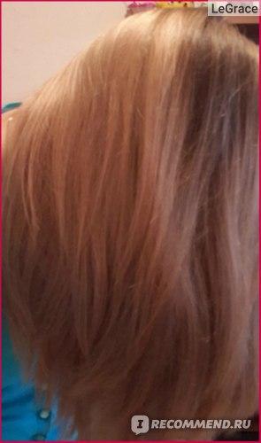 Волосы после применения шампуня