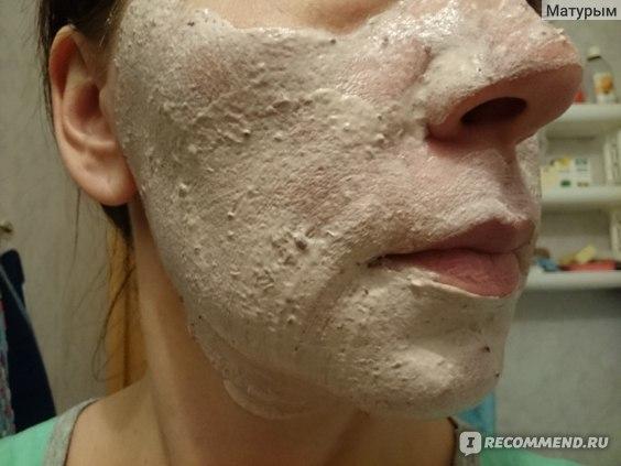 """Очищающая маска для лица Meela Meelo """"Сочная клубника"""" фото"""