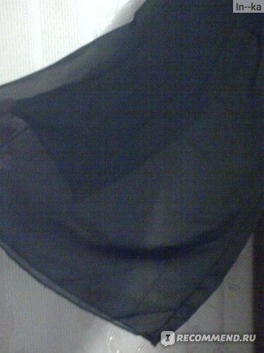 видите, подкладка сделана, как узкие брючки)